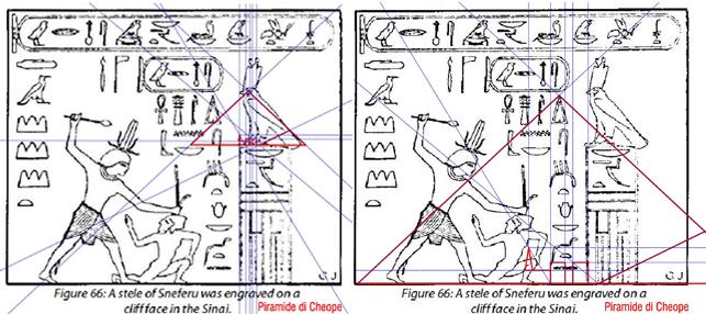 velocità della luce coordinate piramidi
