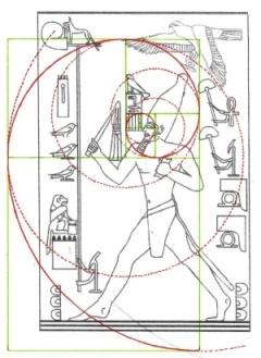 C:\Users\Utente\Pictures\1. The Snefru Gallery\the fibonacci spiral code\219. The Fibonacci spiral on Djoser running 4.jpg